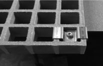 Molded Trench Grating