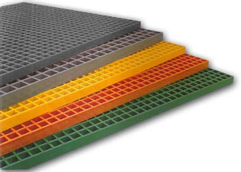 molded fiberglass grating - frp grating from National