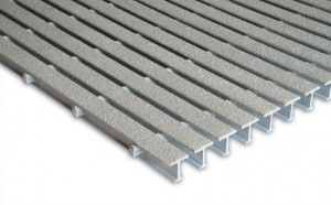 Non-slip Marina Walkway Surfaces - FRP Grating and Non-skid