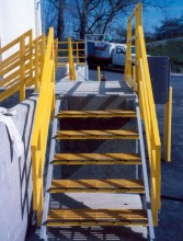 Get the best prices and delivery on fiberglass stair treads from National Grating. pultruded-frp-stair-treads-application__78782.220.220