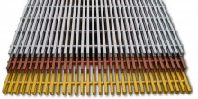 We have many profiles of Pultruded Grating available including I-6000 , I-6010, I-6015, I-4000, I-4010, T-1800, T5000 and T-5020. All are available in polyester are vinyl ester for extremely corrosive environments. pultruded-grating-stack-of-3__41454.220.220