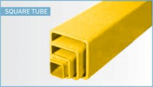 Fiberglass square-tube-yellow-frp__43651.30.30