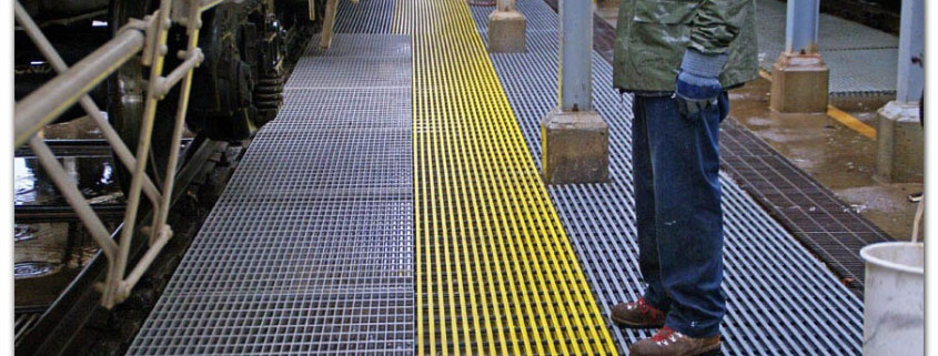 non-corroding Fiberglass Grating is THE alternative to steel grating