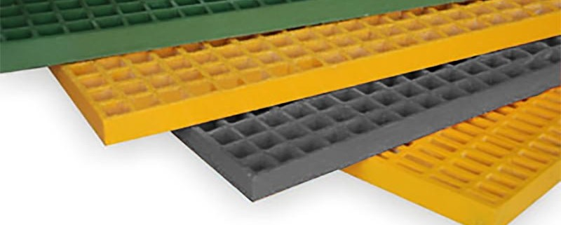 Great options for colored marina walkway and dock repair - frp panels install easily