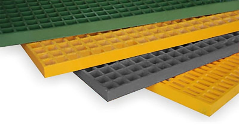 FRP molded grating products