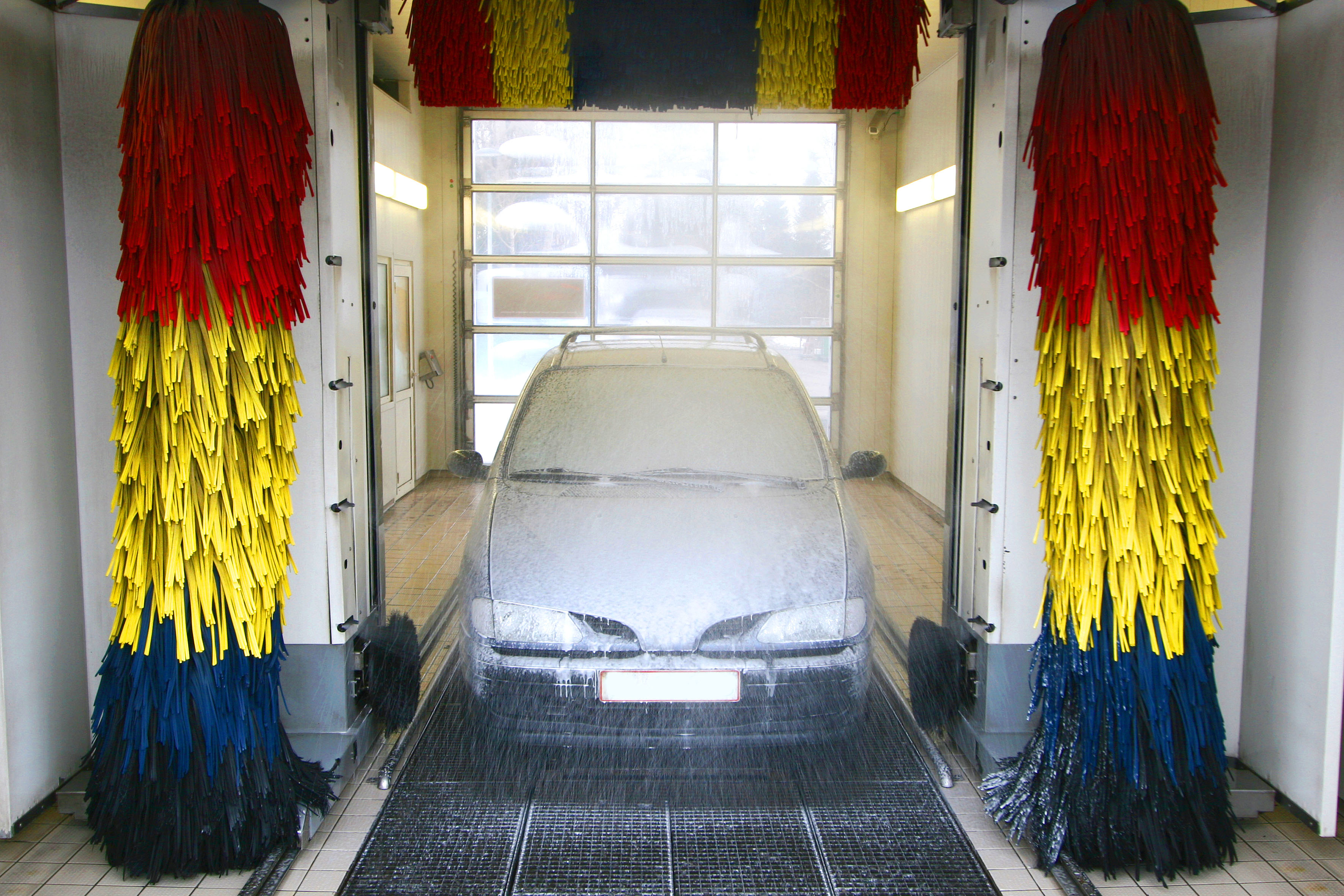 Do It Yourself Car Wash >> FRP Grating for Car Wash Facilities - National Grating