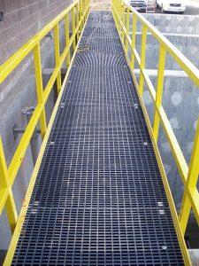 Dock Repair All Weather Frp Walkway Panel Grating