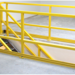 Contractor and wholesale pricing FRP Railings for pump stations stairs