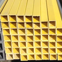 square fiberglass tubing from National Grating - in stock and ready to ship
