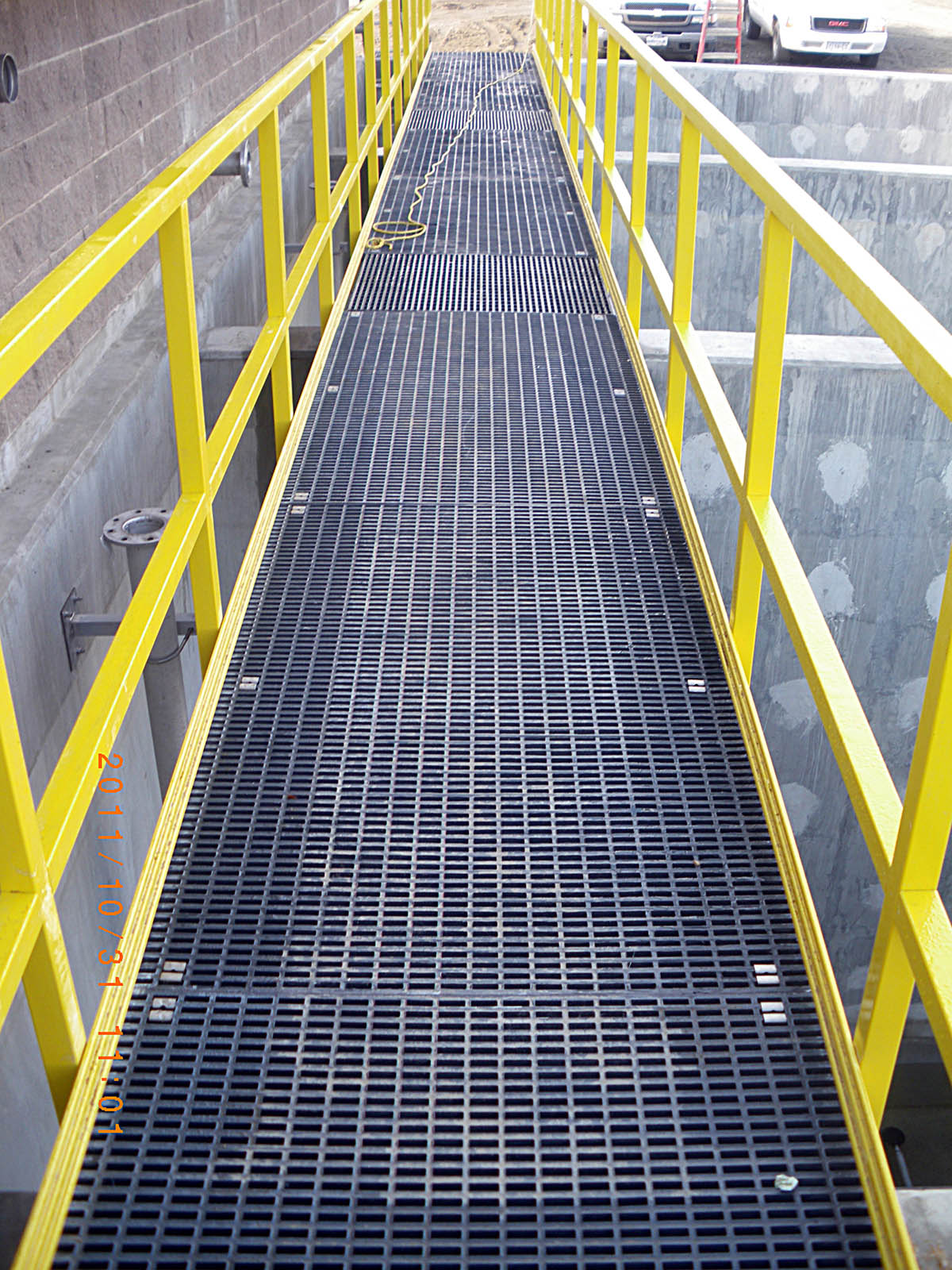 Dock Repair All Weather Frp Walkway Panel Grating
