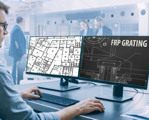 Cad Blocks for FRP Grating and Structures - compatible with AutoCad